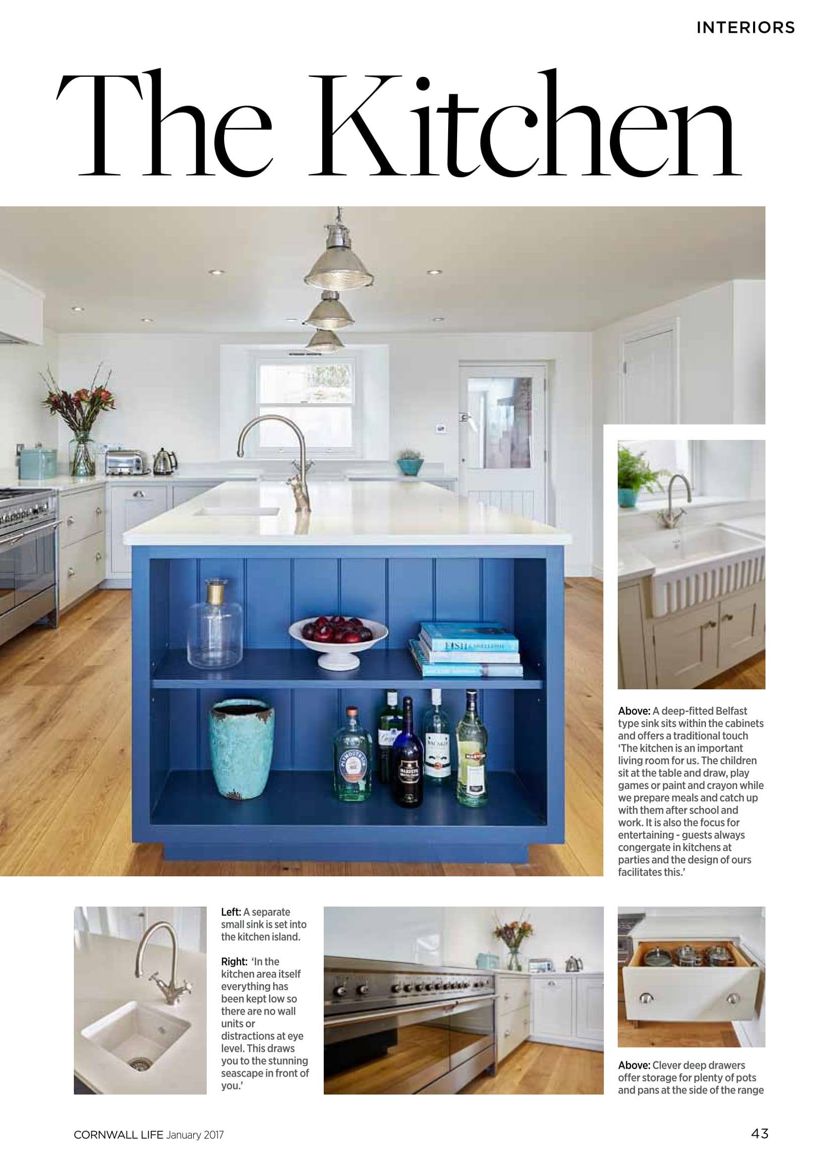 Latest Feature in Cornwall Life – Real Rooms case study on recent ...