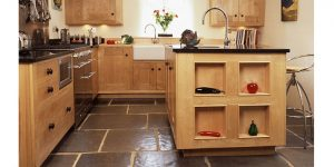 Another hand made wooden kitchen from Barnes in Devon