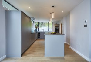 Natural wooden flooring for kitchens