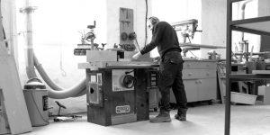 Quality craftsmanship in progress at Barnes
