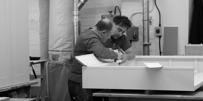 Traditional joinery and cabinet making at Barnes