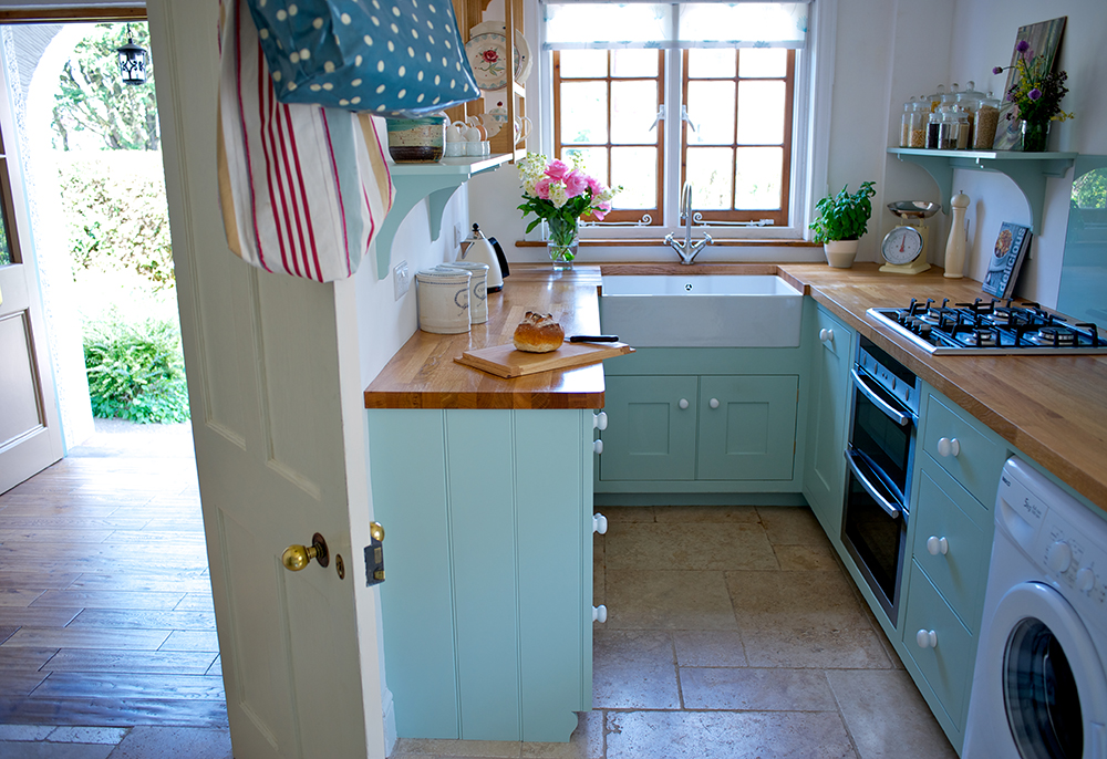 A compact kitchen design from Barnes