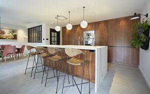 Contemporary modern kitchen design from Barnes