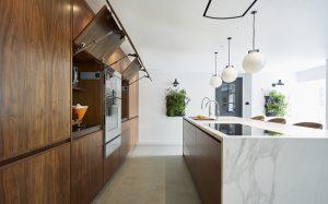 Plenty of storage in this modern kitchen