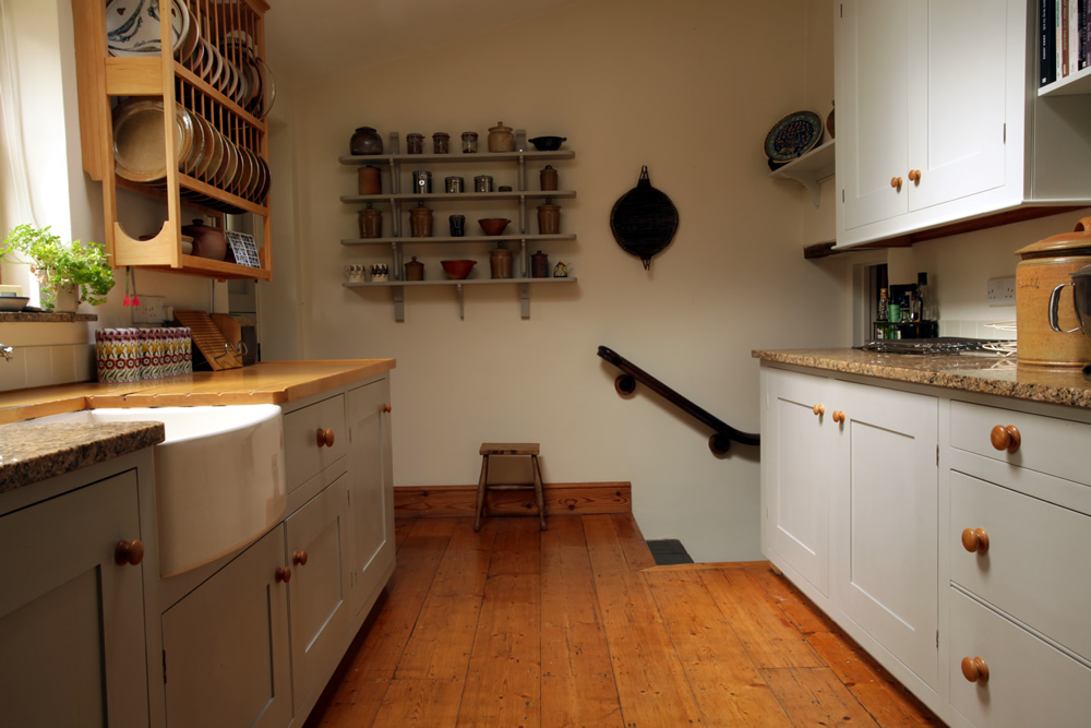The original Barnes kitchen from 2003