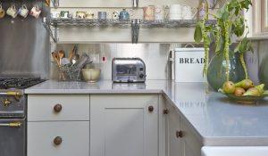 Concrete worktops for modern kitchens