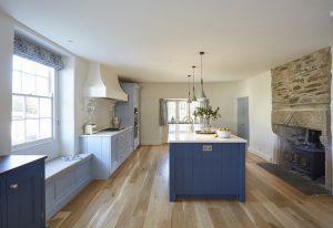 A bespoke kitchen design from Barnes of Ashburton
