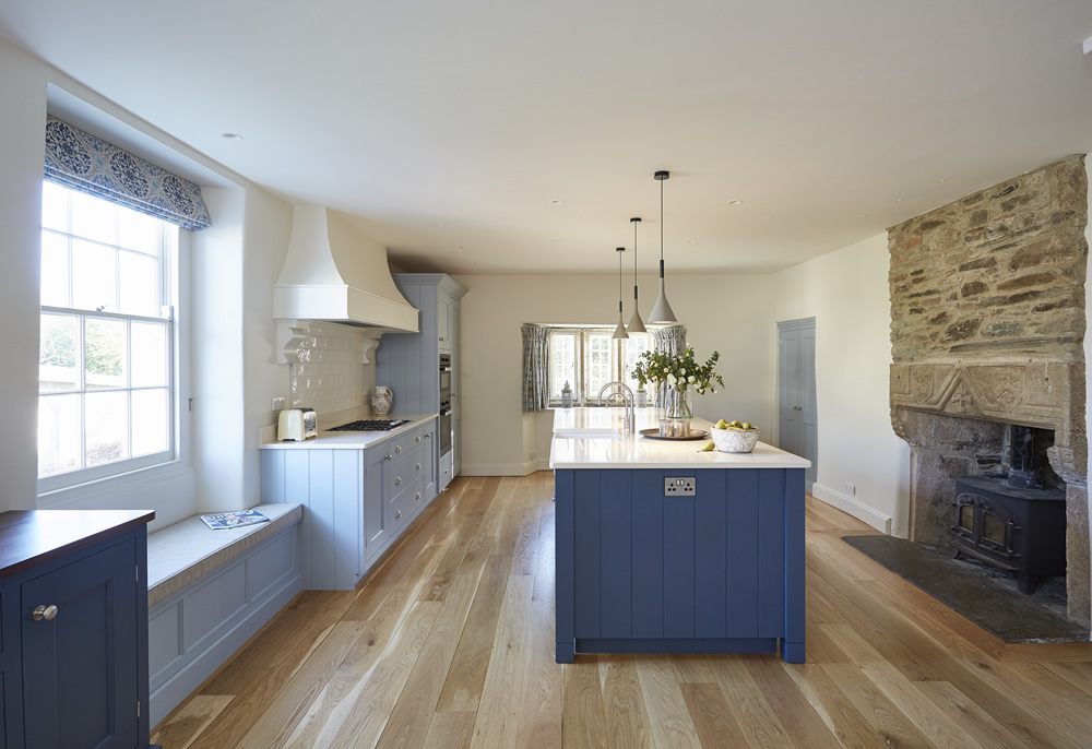 A bespoke kitchen design from Barnes of Ashburton