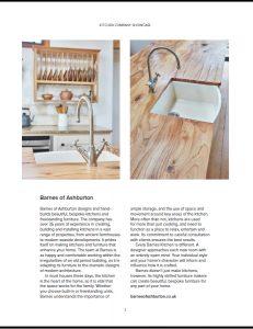 The fine detail of kitchen design