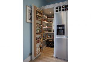 Large walk in larder pantry by Barnes