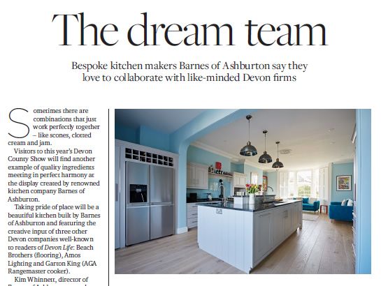 Kitchen Dreams Barnes of Ashburton