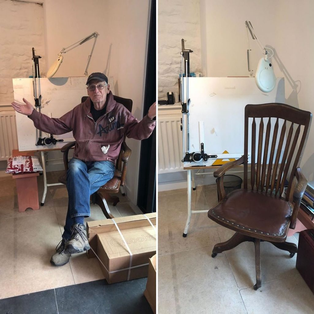An antique chair for Pat