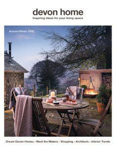 Devon Homes Feature a Barnes Kitchen shown on the magazine cover