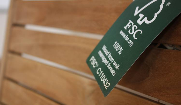 Handmade wooden kitchen using FSC wood
