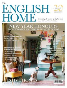 English Homes magasine cover featuring Bares of Ashburton